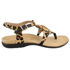 VIONIC® Women's Tatiana Jeweled LEOPARD Sandal